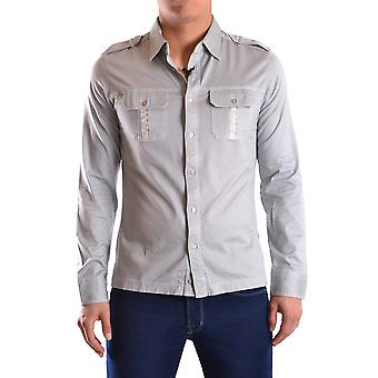 John Richmond Ezbc082093 Men's Light Blue Cotton Shirt
