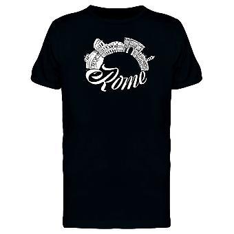 Rome okrągły zabytki Koszulka męska-obraz przez Shutterstock