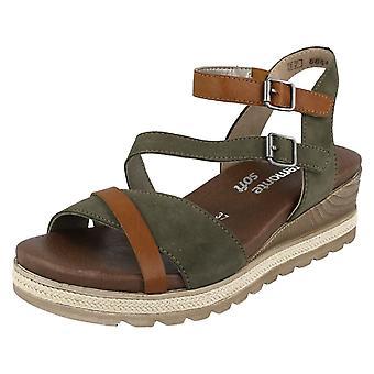 Damas sandalias retan D6356