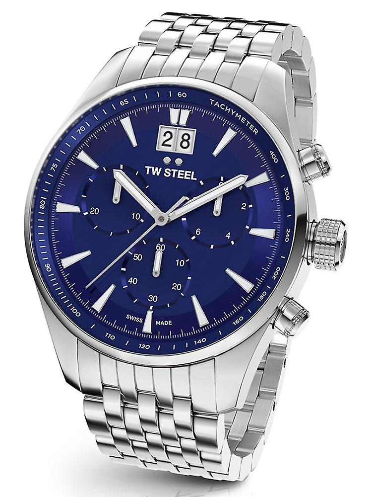 TW Steel Ace313 ancient Aternus Swiss Made chronograph mens watch 45 mm