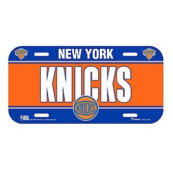 Fanatics NBA Kennzeichenschild - New York Knicks