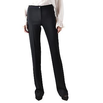 Boutique Moschino Ezbc170004 Women's Black Acetate Pants