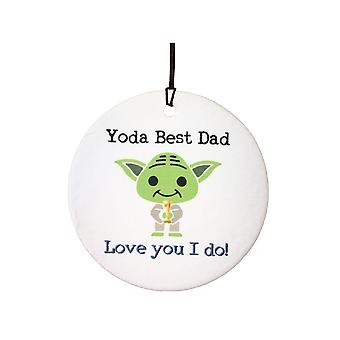 Yoda Best Dad Car Air Freshener