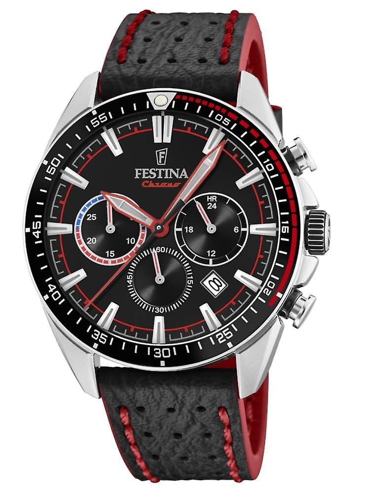 Festina F20377/6 The Originals Chronograph mens Watch 44 Mm