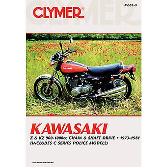Kawasaki Z900/1000 73-81 (3rd) by Penton - 9780892878376 Book