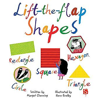 Lift-The-Flaps Shapes by Margot Channing - 9781912233410 Book