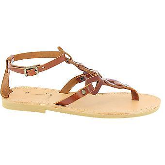 Attica Sandali 5049 Donne's Flip flop in pelle marrone