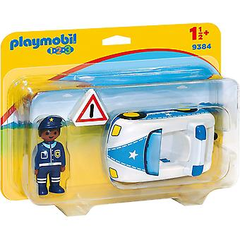 Playmobil 9384 1.2.3 poliisi auto Trailer Hitch