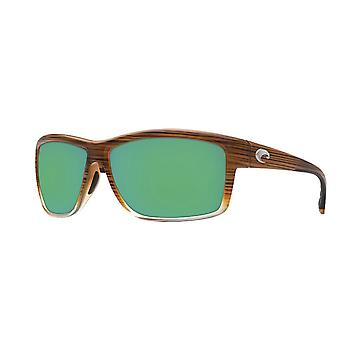 Costa Del Mar Mag Bay Polarized Wood Brown Fade Sunglasses - AA-81-OGMGLP