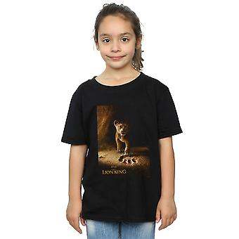 Disney Girls The Lion King Movie Simba Affiche T-Shirt