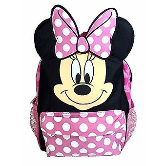 Backpack - Disney - Minnie Mouse Face Head Pink 16