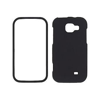 Sprint duas peças Soft Touch snap-on case para Samsung Transform M920-preto