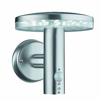 LED-Außenleuchte Edelstahl mit Bewegungssensor Ip44