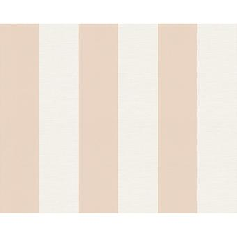 A.S. Creation AS Creation Liberte Striped Pattern Pastel Colour Textured Wallpaper 314062