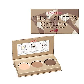 Barry M Chisel Cheeks Contour Kit - Medium/Dark