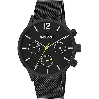 Radiant north week Quartz Analog Man Watch with RA418703 Stainless Steel Bracelet