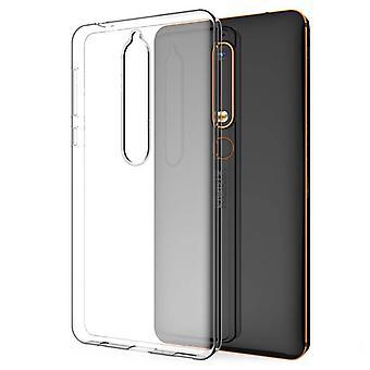 Nokia 6.1 Silicone Case Transparent - CoolSkin3T