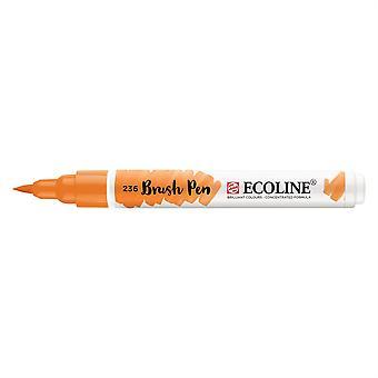 Talens Ecoline Liquid Watercolour Brush Pen - 236 Light Orange