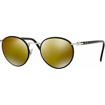 Persol 2422SJ Medium Black Green Miroité Gold