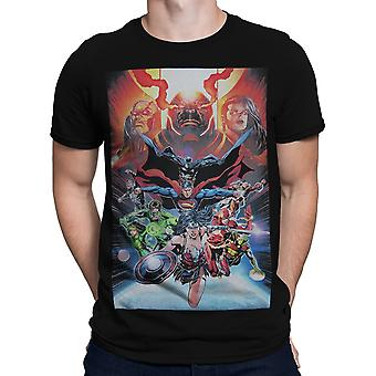 Justice League Darkseid War men ' s T-shirt