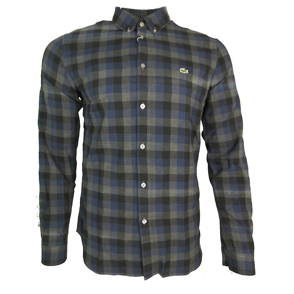 Lacoste Shirts Lacoste Flannel Check Shirt