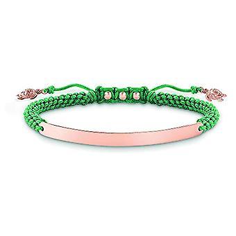Thomas Sabo Rose Vergoldet Armband 18 Karat aus Donna Silber Sterling 925 LBA0057-597-6-L19v