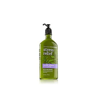 Kylpy & runko toimii stressin Help otus vanilja Verbena Body Lotion 6,5 oz/192 ml (2 kpl)
