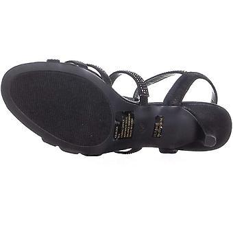 Karen Scott Alixa Women's Sandals & Flip Flops Black Size 8.5 M