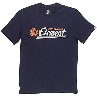 Element Signature Short Sleeve T-Shirt in Eclipse Navy