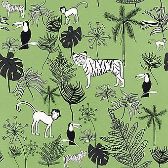 Bambino XVIII jungle dieren behang Rasch