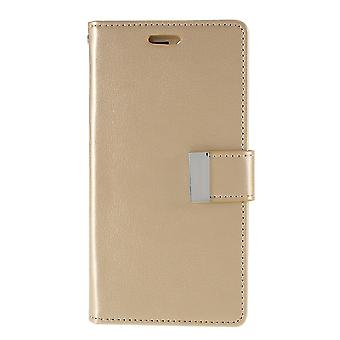 Mercury GOOSPERY Rich Diary for iPhone 11 Pro Max-Gold