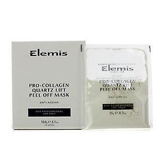 Elemis Pro-colágeno Quartz Lift Peel Off Mask (produto de salão) - 10x15g/0.5oz