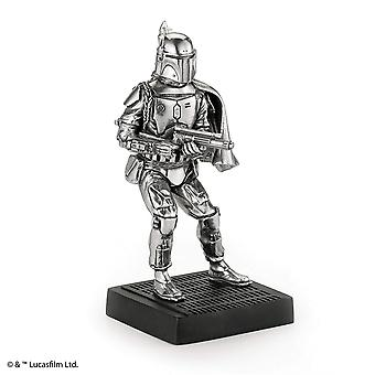 Star Wars By Royal Selangor 017863R Boba Fett Pewter Figurine
