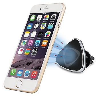 InventCase Air Vent Car Mount Clip Stand Magnetic Mobile Phone Holder for Samsung Galaxy S2 / S3 / S4 / S5