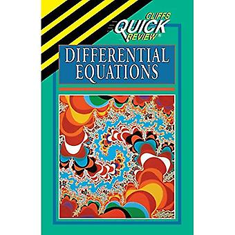 Quick Review differential ekvationer (CliffsQuickReview)