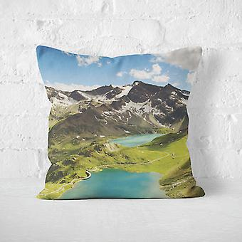 Meesoz Cushion Cover - Lakes In Alps