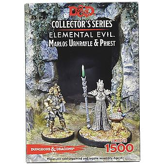 Marlos Urnrayle & Earth Priest D&D Collector's Series Princes of the Apocalypse
