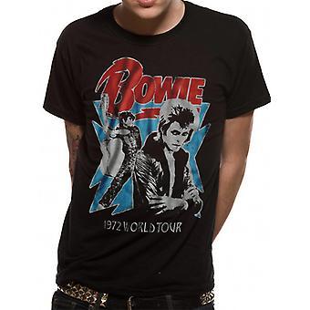 David Bowie-1972 World Tour T-Shirt