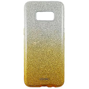 Hull For Samsung Galaxy S8 with Golden and Silver Strawberries