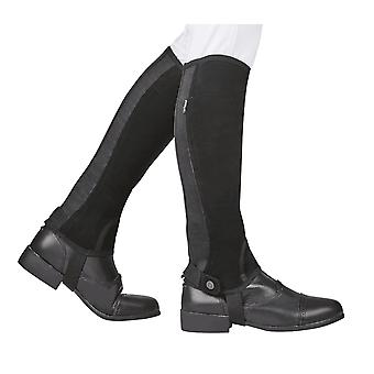 Dublino Adulti Easy-care Sl Grip Half Chaps - Nero