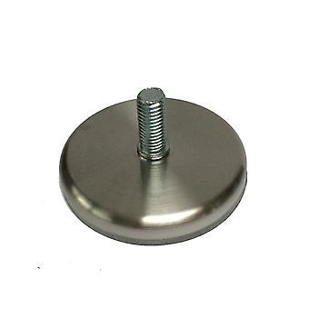Base en acier inoxydable d'environ 7 cm (M10) (4 pièces)