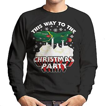 Thunderbirds 2 This Way To The Christmas Party Men's Sweatshirt