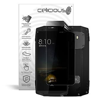Celicious Privacy Plus 4-Way Anti-Spy Filter Screen Protector Film Compatible with Blackview BV9000