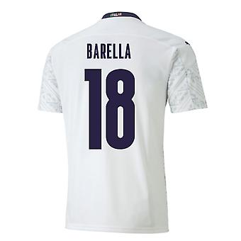 2020-2021 Italy Away Puma Football Shirt (BARELLA 18)