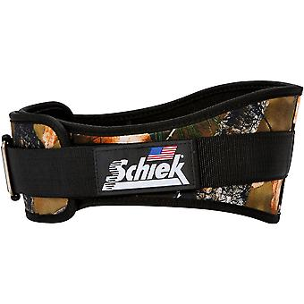 "Schiek Sports Model 2006 Nylon 6"" Weight Lifting Belt - Camo"