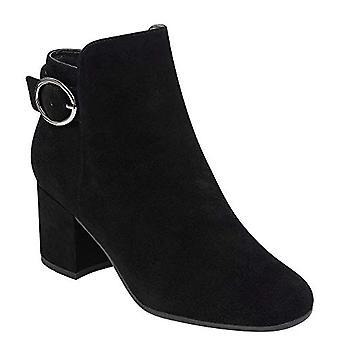 Easy Spirit Brandy Women's Boot, Black/Black, Size 6.0