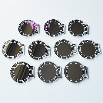 Ships Port Hole with Hinge Mini Craft Sized Acrylic Mirrors (10Pk)