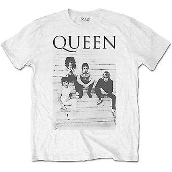 Queen Freddie Mercury Brian May Band Profile 1 Official T-Shirt