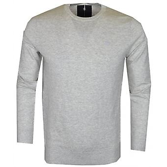 G-Star Core Slub Melange Grey Cotton Jumper
