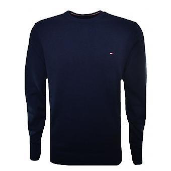 Tommy Hilfiger Herren Marineblau Pima Cotton Cashmere Pullover